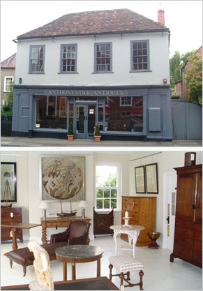 antiques shop Warminster